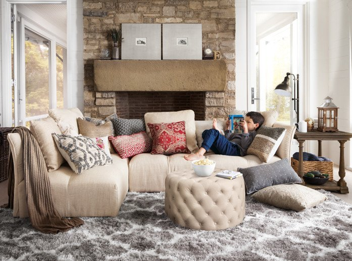 Comfortable Chic Living Room How to Decorate A Living Room Ideas for Decorating Your