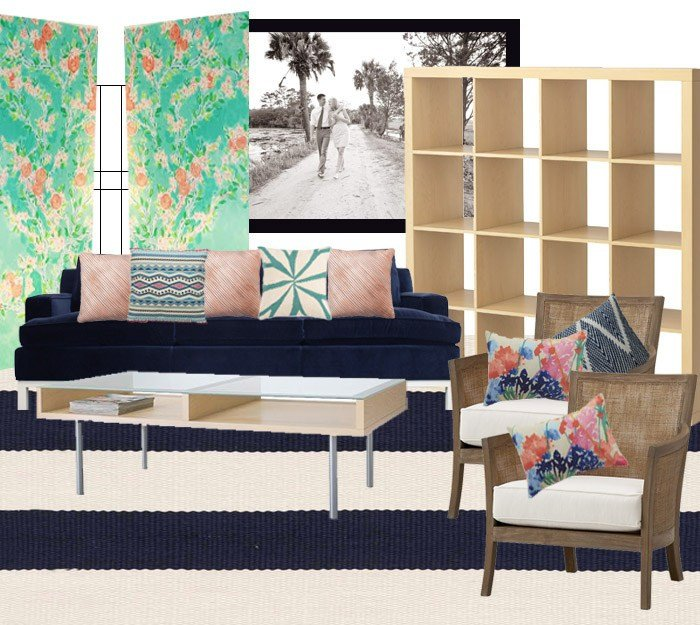 Comfortable Chic Living Room Jen Darling S Living Room Design fortable Chic