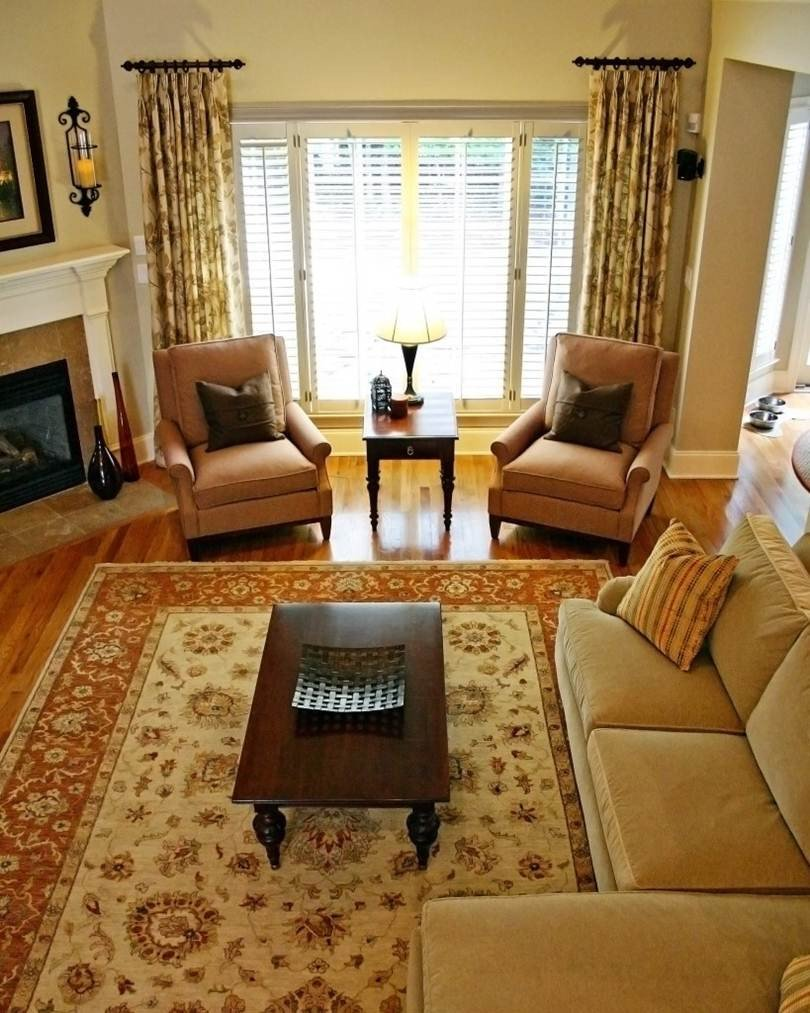 Comfortable Classic Living Room Cool Casual Traditional Living Room Design