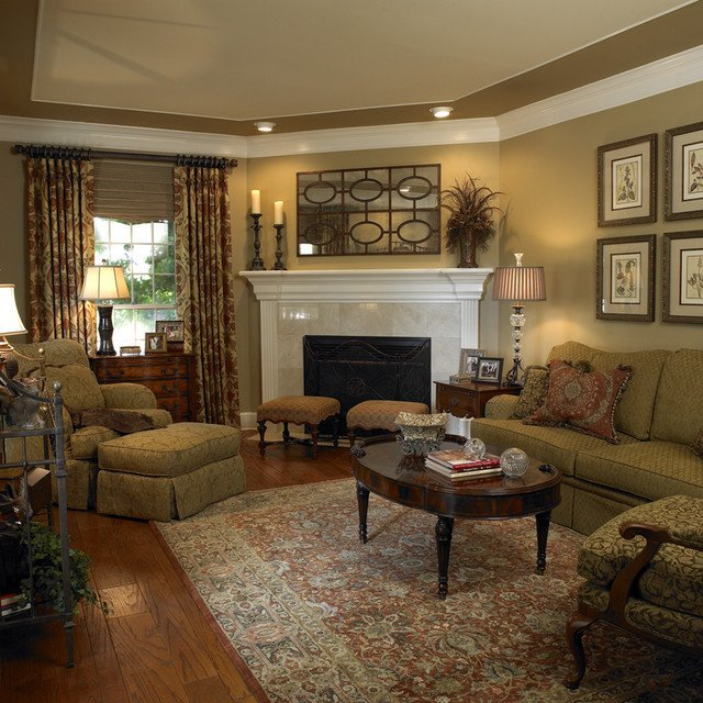 Comfortable Classic Living Room formal Living Room Traditional Living Room Austin