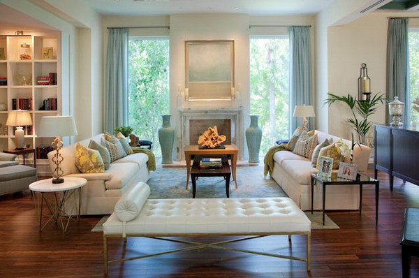Comfortable Contemporary Living Room Interior Design Ideas fortable Living Room Style with