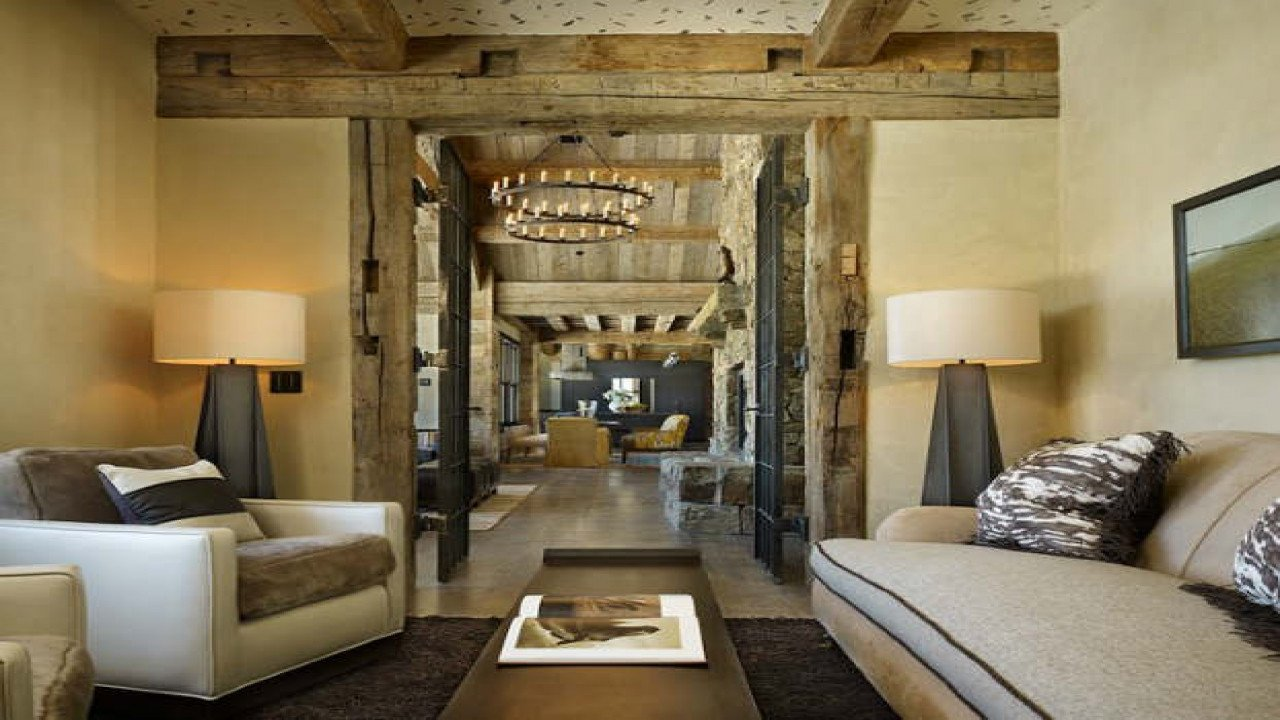 Comfortable Contemporary Living Room Rustic Living Room Modern Rustic Living Room Design Ideas