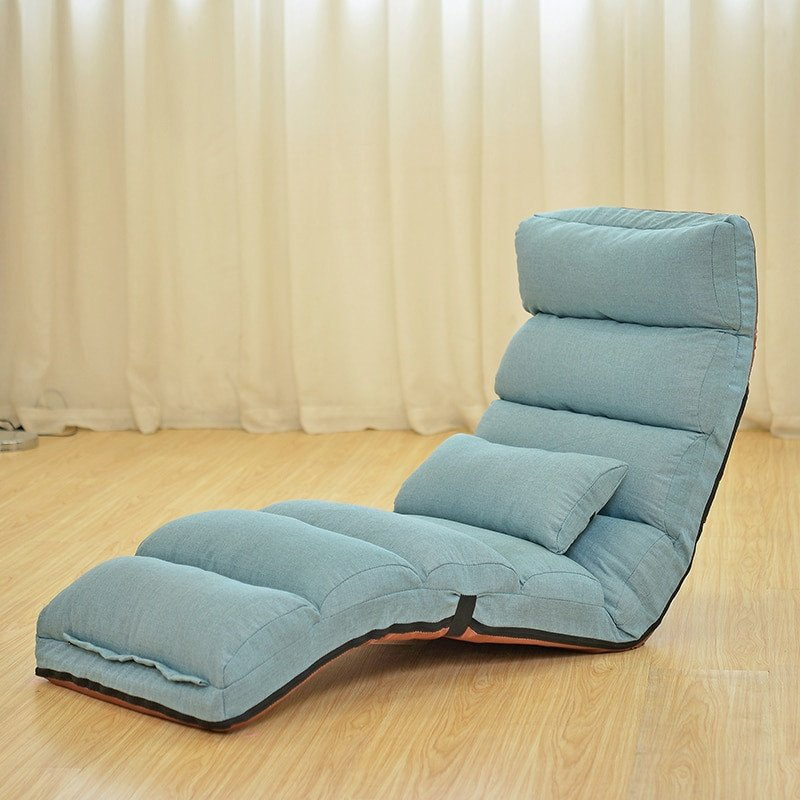 Comfortable Daybeds Living Room Floor Folding Chaise Lounge Chair Modern Fashion 6 Color