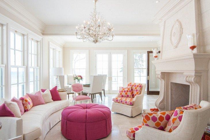 Comfortable Feminine Living Room 18 Feminine Living Room Designs Ideas