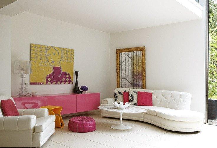 Comfortable Feminine Living Room 66 Airy and Elegant Feminine Living Rooms