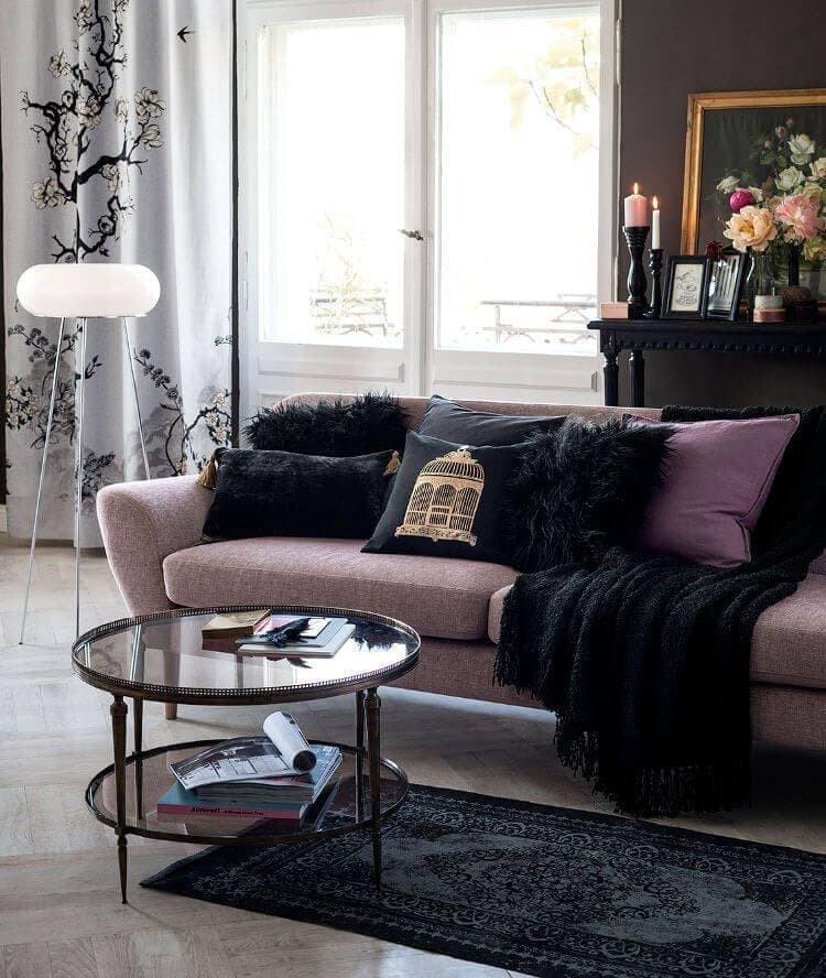 Comfortable Feminine Living Room Feminine Living Room Ideas and where to Buy them