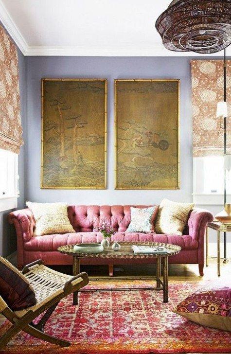 Comfortable Feminine Living Room Vivacious and Cute Feminine Living Rooms