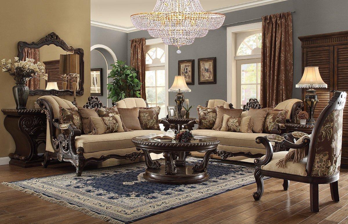 Comfortable formal Living Room مدلهای مبلمان راحتی 2017 مدل مبلمان راحتی و سلطنتی