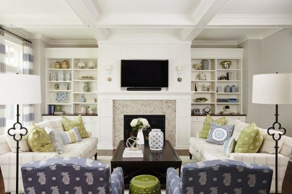 Comfortable formal Living Room Project Reveal Danbury Way Great Room