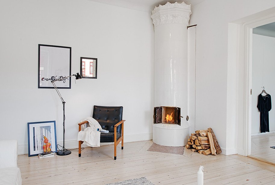Comfortable Living Room Apartment Casually fortable Decor Driven Apartment In Sweden
