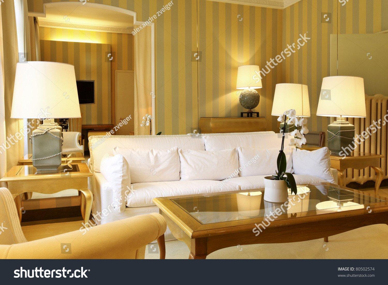 Comfortable Living Room Apartment Interior Luxury Apartment fortable Classic Living Room