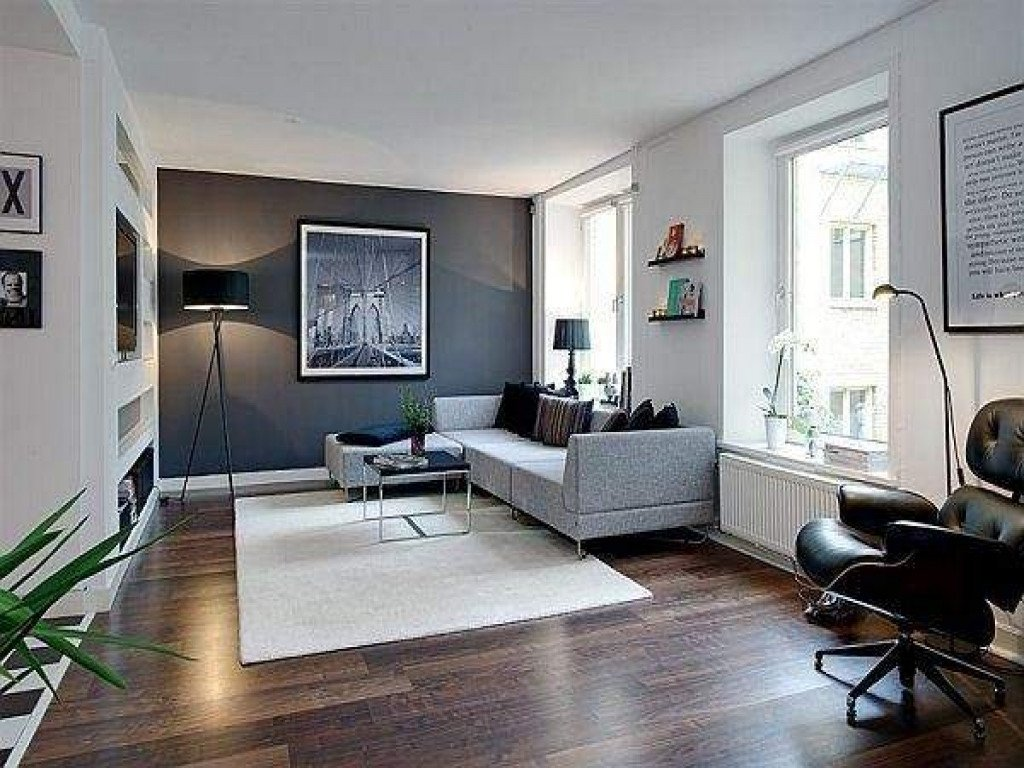 Comfortable Living Room Apartment Living Room Feature Wall Design Modern Living Room Ideas
