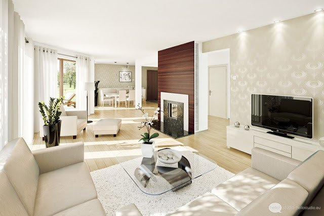 Comfortable Living Room Colors 25 Living Room Design & Decoration Ideas