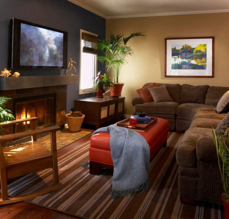 Comfortable Living Room Colors 27 fortable and Cozy Living Room Designs