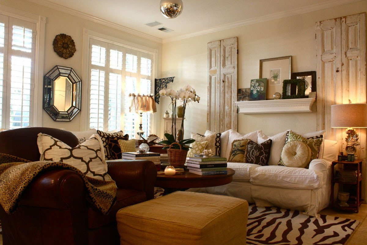 Comfortable Living Room Decorating Ideas Vintage Interior Design – Part 3