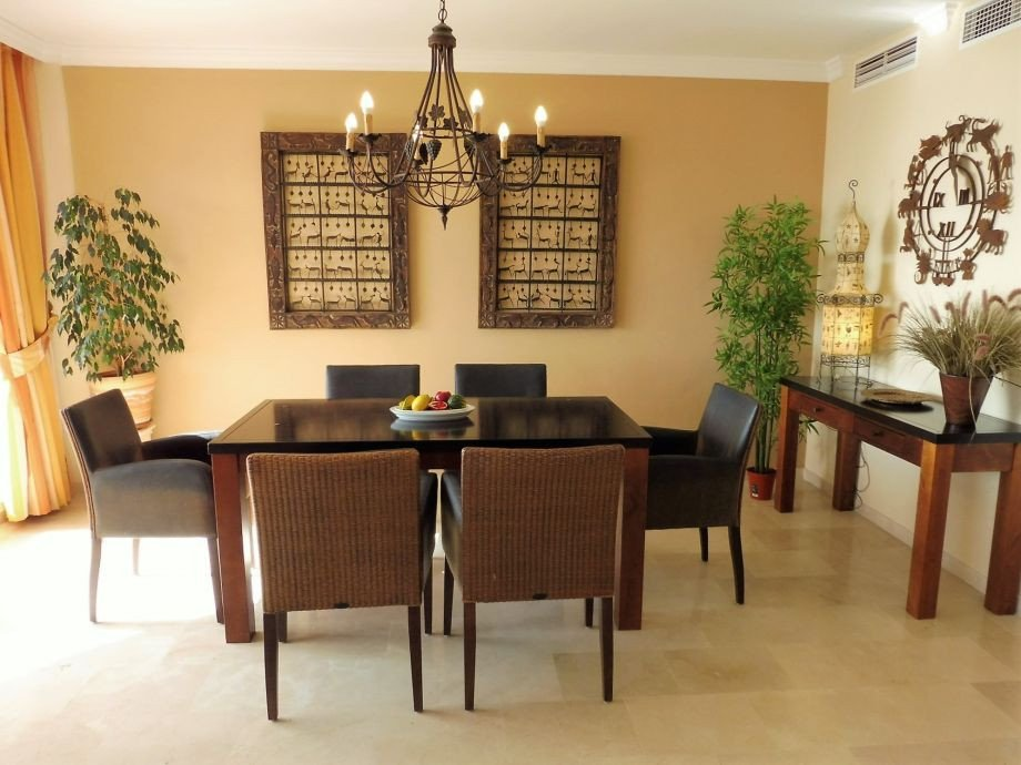 Comfortable Living Room Dining Room Holiday Apartment Beachpenthouse Bermuda Beach 4 Estepona