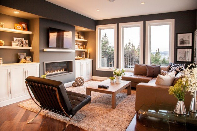 Comfortable Living Room Fireplace 20 Stunning Contemporary Family Room Designs for the Best