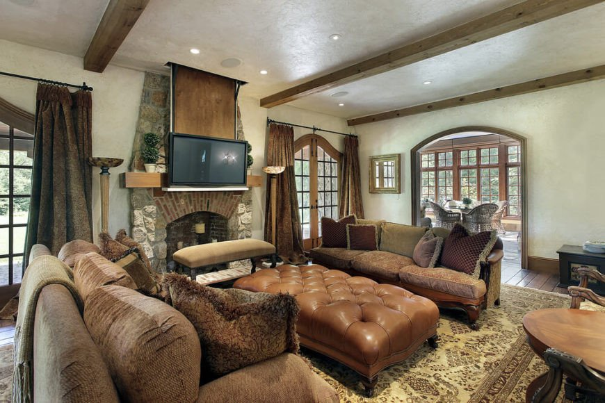 Comfortable Living Room Fireplace 25 Cozy Living Rooms with Fireplaces