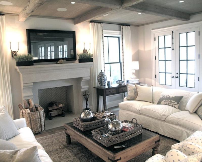 Comfortable Living Room Fireplace 54 fortable and Cozy Living Room Designs Page 7 Of 11