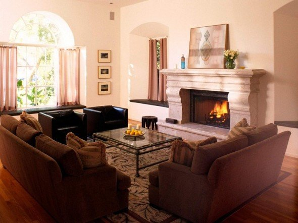 Comfortable Living Room Fireplace What to Consider when Arranging A Living Room – House
