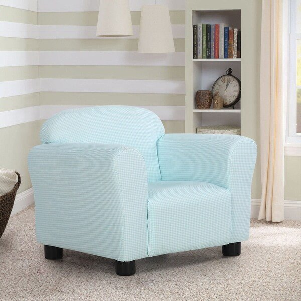 Comfortable Living Room Furniture Shop Costway Green Kids sofa Armrest Chair Children