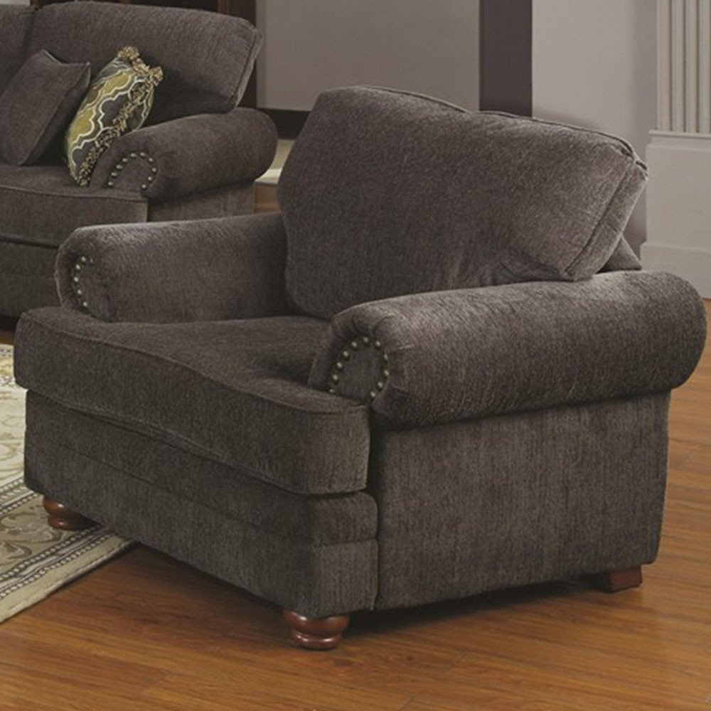 Comfortable Living Room Furniture Traditional Styled Living Room Chair with fortable Cushions