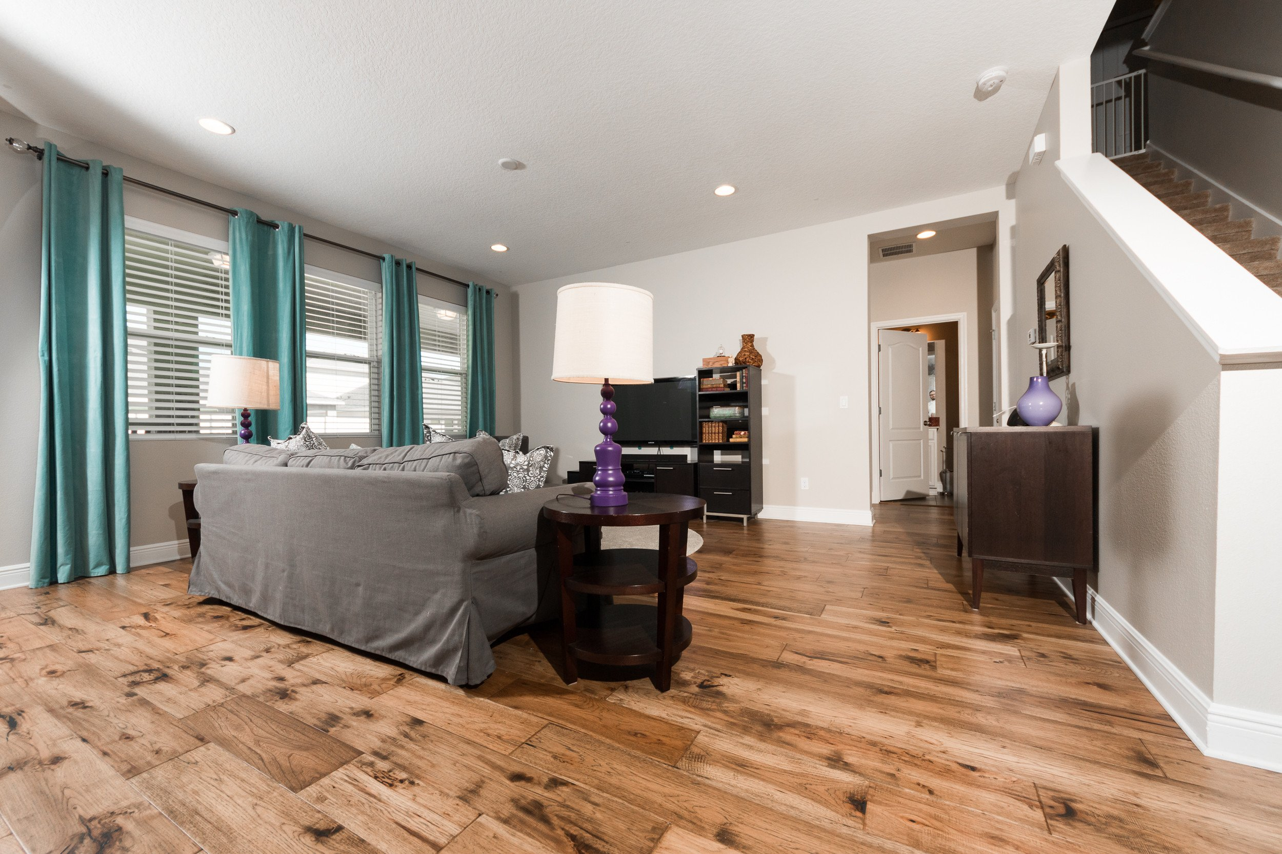 Comfortable Living Room Hickory Floor Champagne Hickory Flooring Ability Wood Flooring