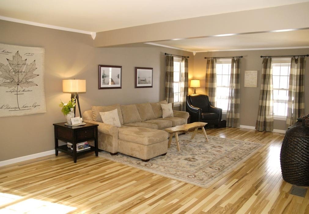 Comfortable Living Room Hickory Floor Favorite Thrifty Projects Of All Time Part 1