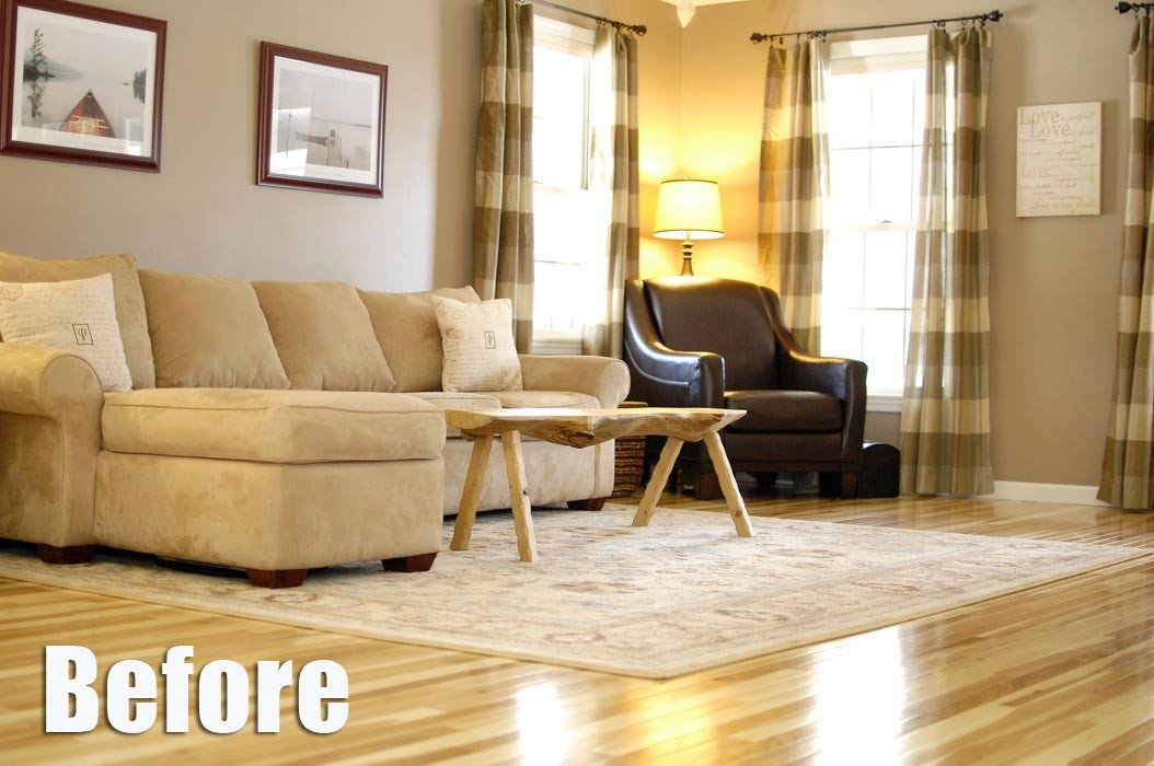 Comfortable Living Room Hickory Floor Living Room Archives Living Rich On Lessliving Rich On Less
