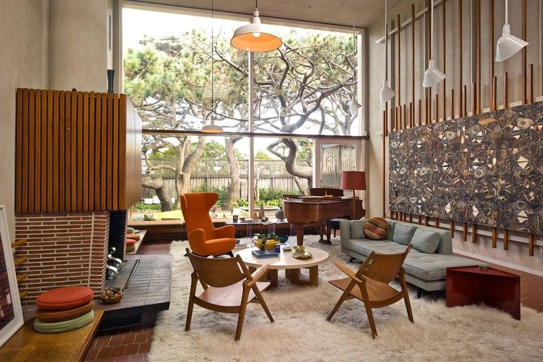 31 fortable and modern mid century living room design ideas