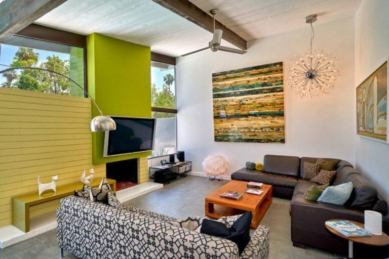 Comfortable Living Room Mid Century Amazing and fortable Mid Century Living Room