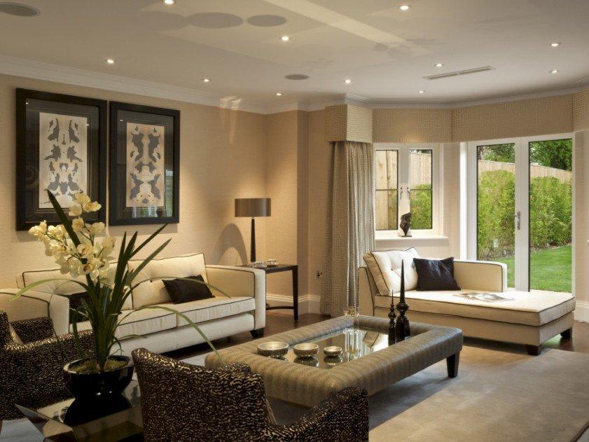 Comfortable Living Room Minimalist Nice Interior Design for Minimalist Home