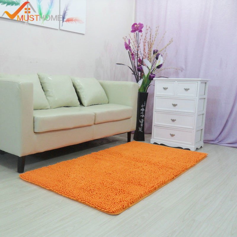 """Comfortable Living Room Rugs 60x150cm 23""""x59"""" Chenille Carpets for Living Room"""