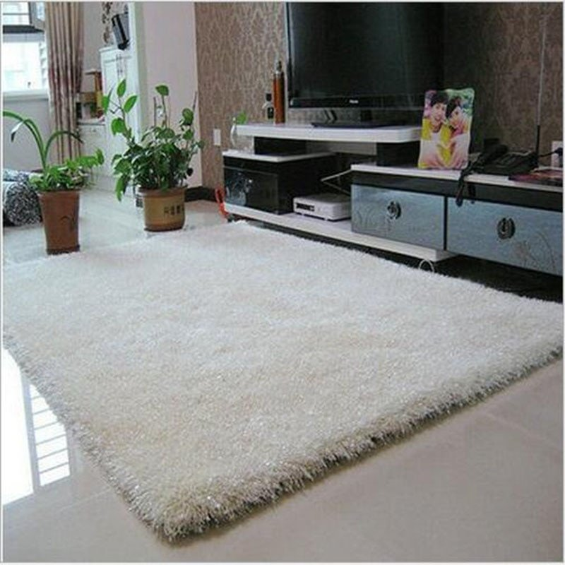 Comfortable Living Room Rugs 70cmx140cm area Rugs for Bedroom Thick Long Hair with Wire