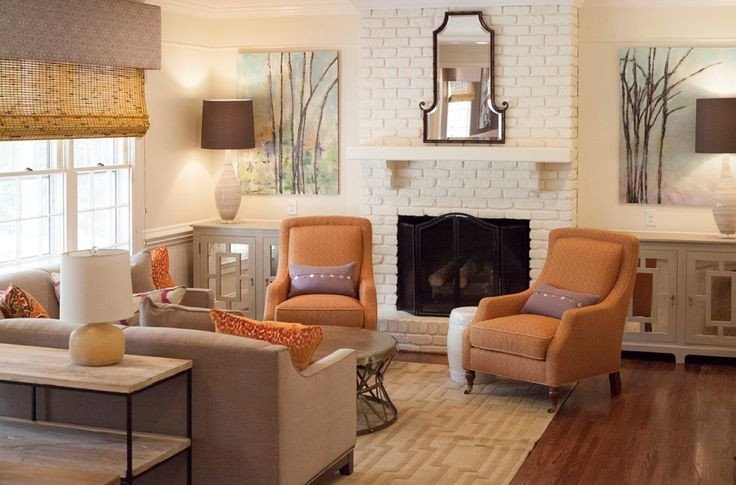 Comfortable Living Room Rugs Casual and fortable Living Room Designed by Beth Keim