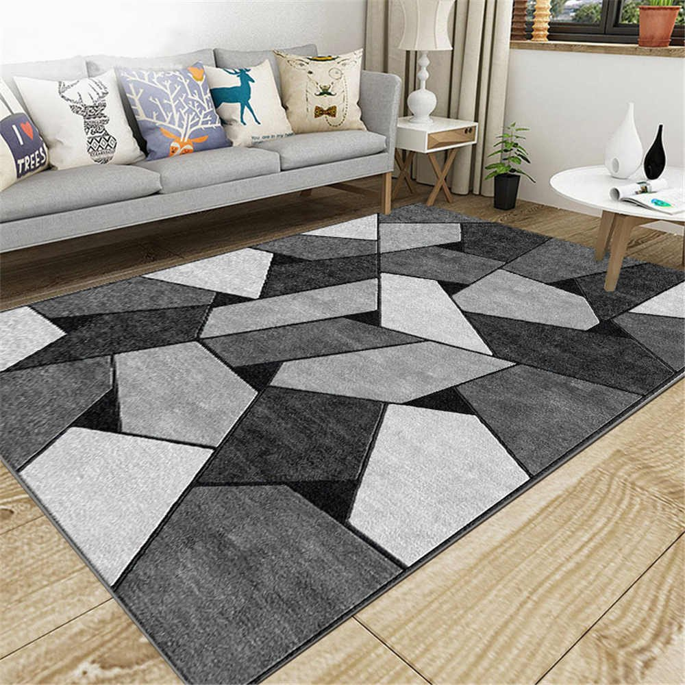 Comfortable Living Room Rugs European Style Home Decoration Carpet fortable area