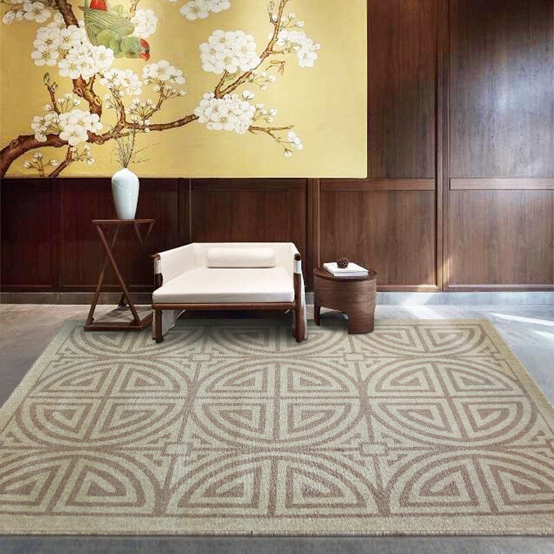 Comfortable Living Room Rugs India Imports Kilim Wool Rug Modern Simple Rugs and