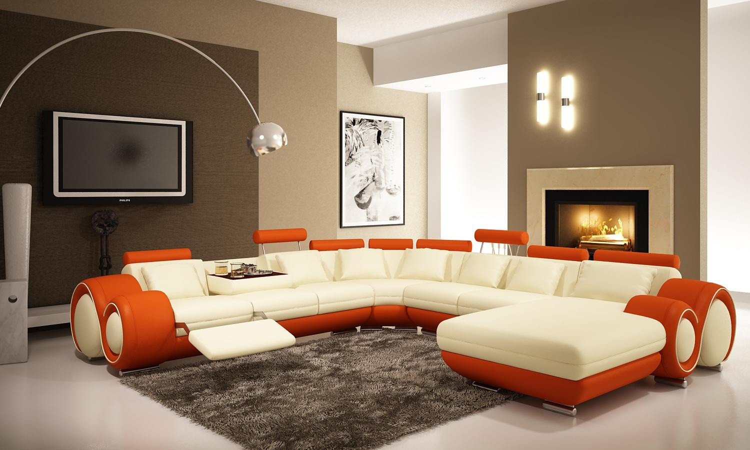Comfortable Living Room Rugs Living Room Rugs In Plain and Patterned Designs Traba Homes