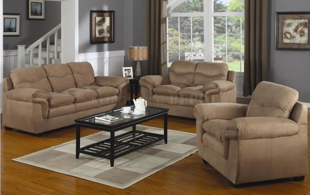 Comfortable Living Room Seating Homemillion