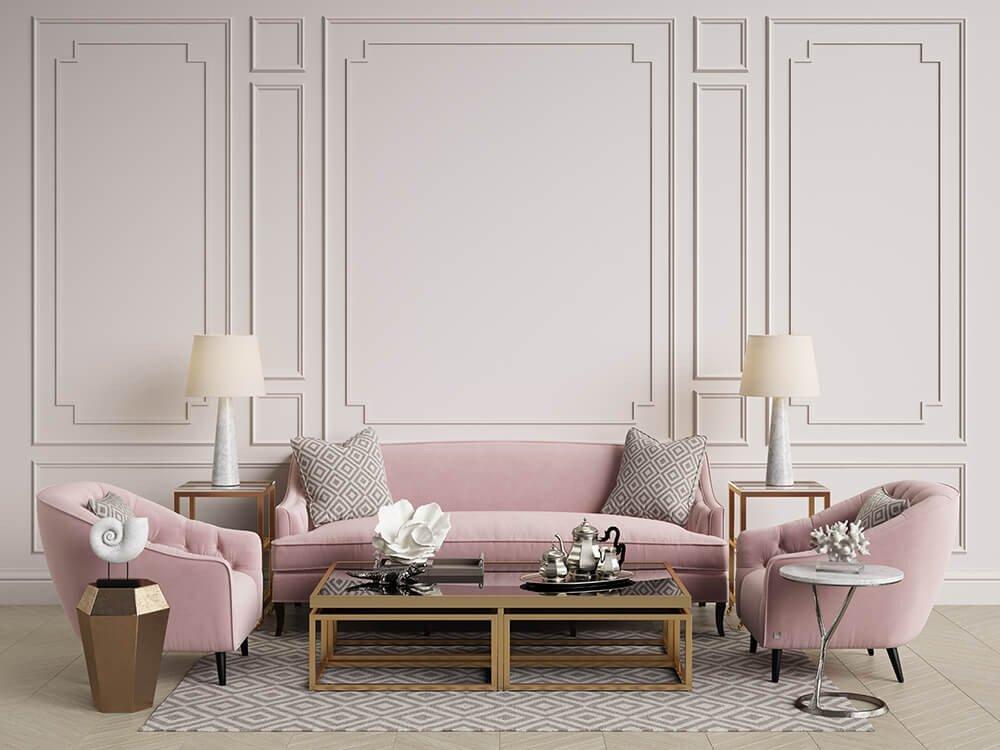 Comfortable Living Room Timeless Custom Furniture that's Timeless
