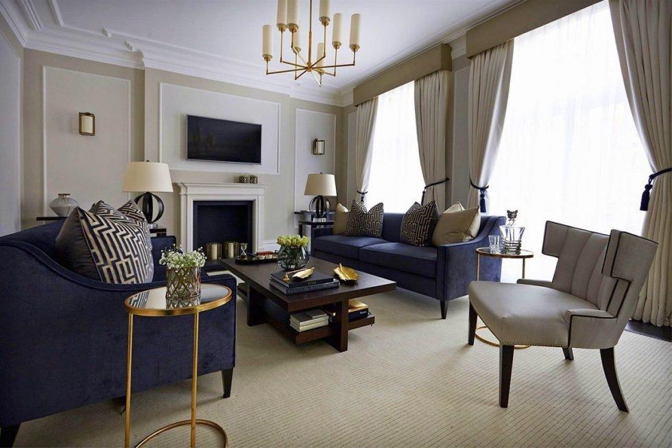 Comfortable Living Room Timeless Timeless Interior Design Boscolo Dk Decor