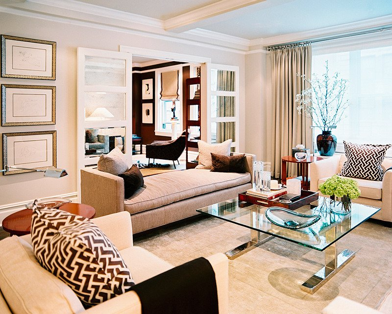 Comfortable Living Room Timeless Updated Home with Traditional Timeless Style