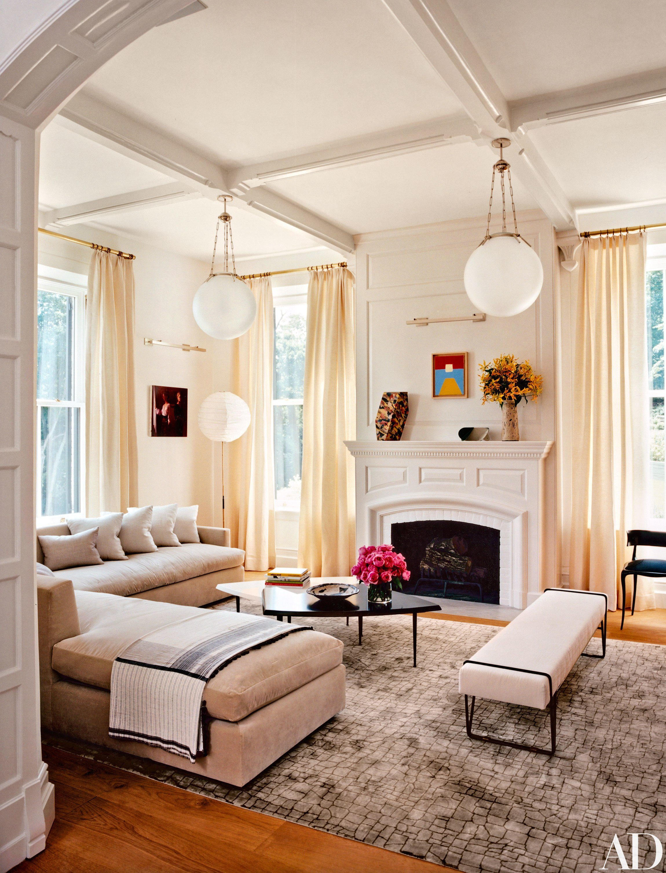 Comfortable Living Room Victorian 14 Amazing Living Room Makeovers S