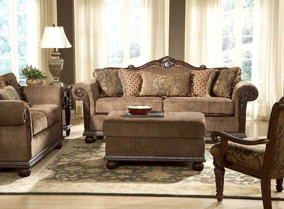 Comfortable Living Room Victorian Elegant Traditional sofas for fortable Seating area