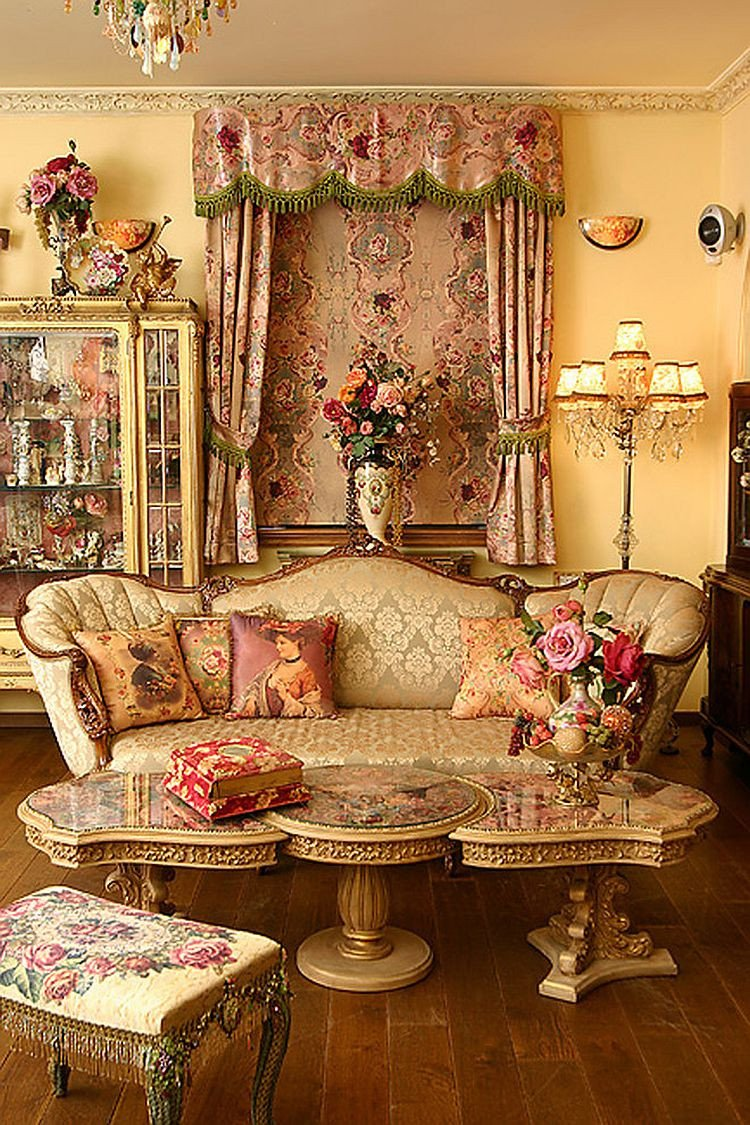 Comfortable Living Room Victorian Feast for the Senses 25 Vivacious Victorian Living Rooms