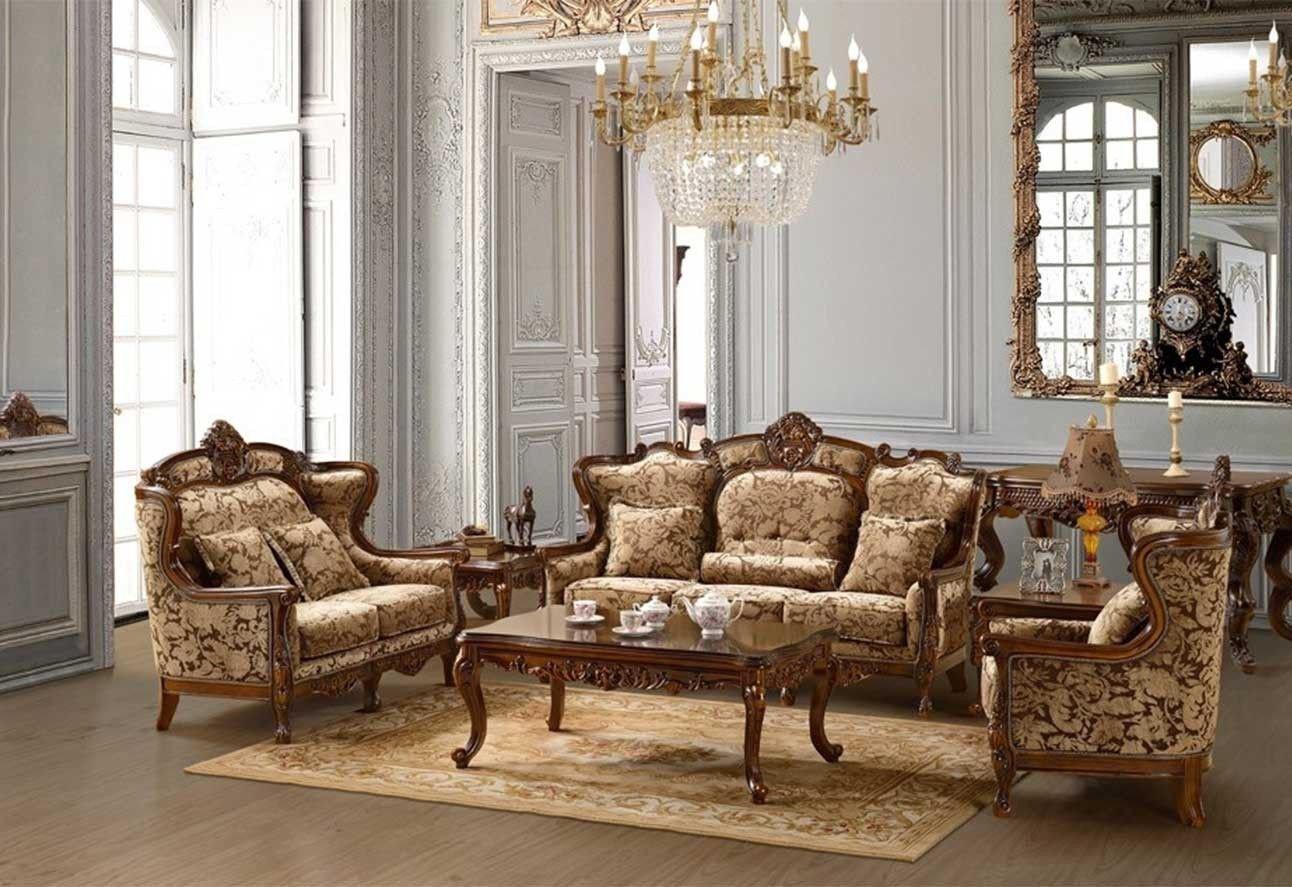 Comfortable Living Room Victorian Sala Victoriana
