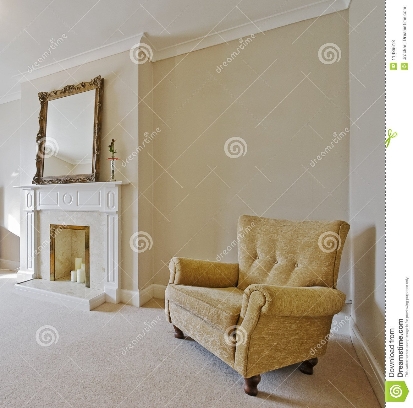 Comfortable Living Room Victorian Victorian Style Living Room Stock Image Of