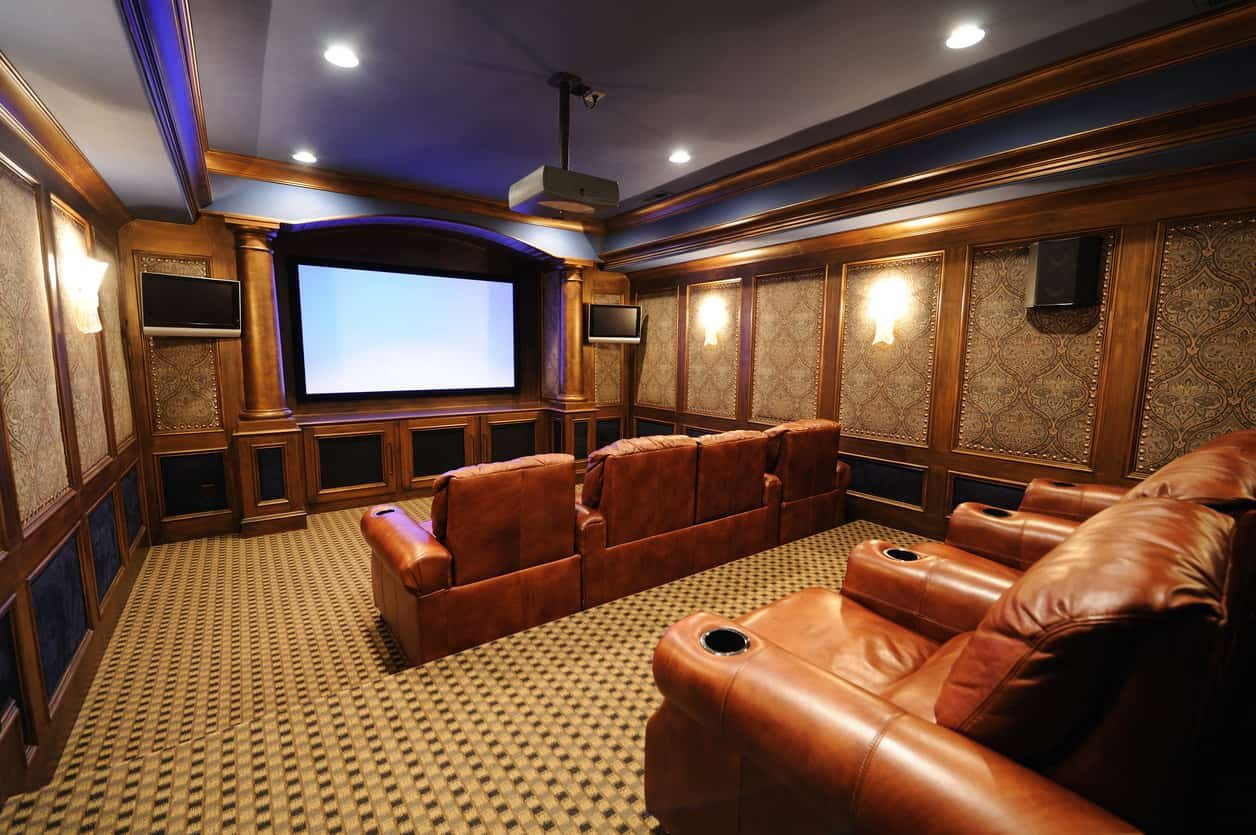 Comfortable Living Roomfor Movie Watching 100 Home theater & Media Room Ideas 2019 Awesome