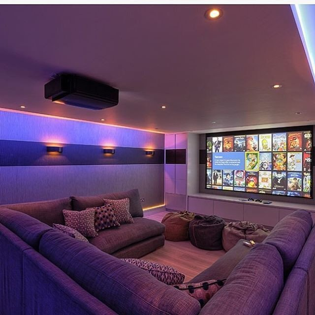Comfortable Living Roomfor Movie Watching 15 Awesome Basement Home theater [cinema Room Ideas
