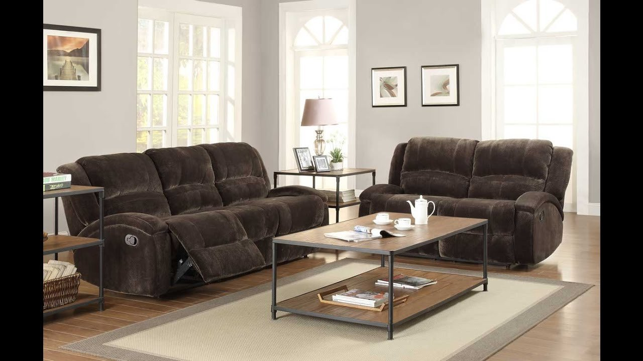 Comfortable Living Roomfor Movie Watching Elegant fortable Recliner sofa Sets for Luxurious